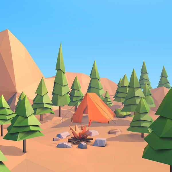 Environments - Cartoon Low Poly Forest Island 2.0 - Anton Moek