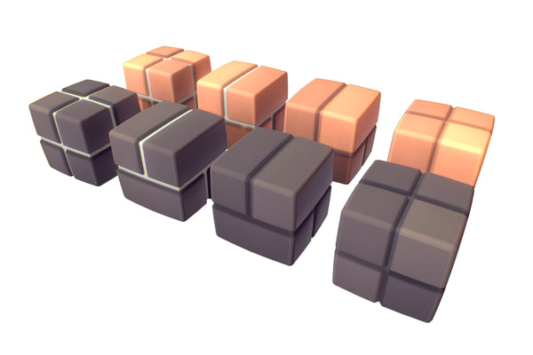 Environments - Cube World Brick Block - Proto Series