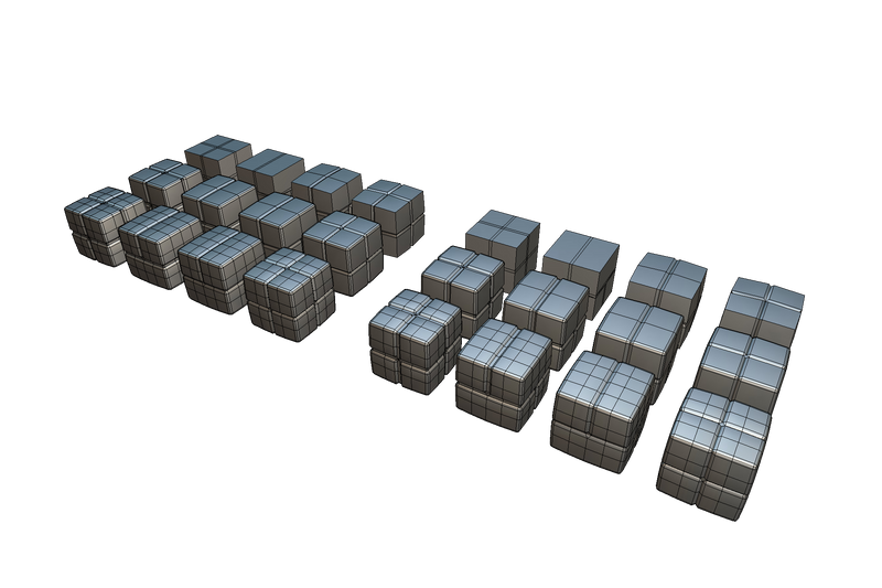 Cube World Brick Block - Proto Series