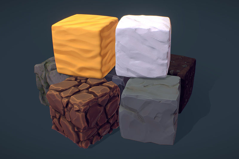 Cube World Bundle - PBR Handpainted Series