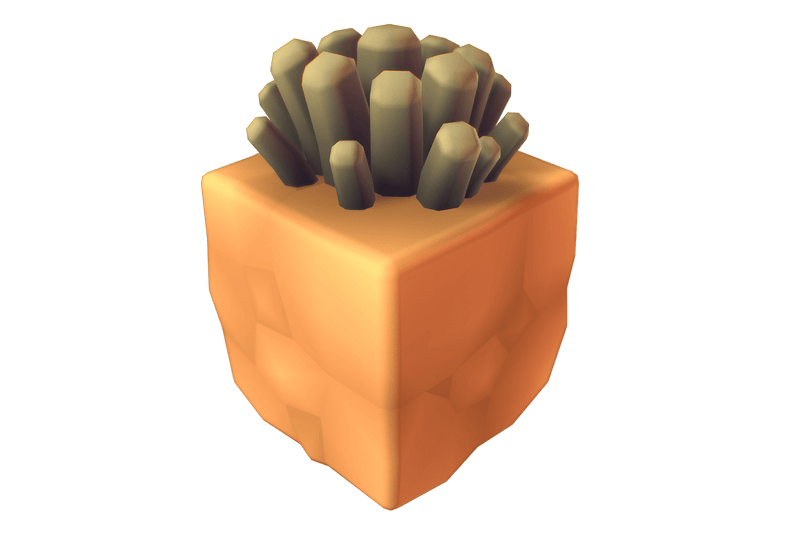 Cube World Dirt Block - Proto Series