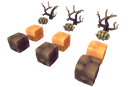 Environments - Cube World Dirt Block 1 - Proto Series