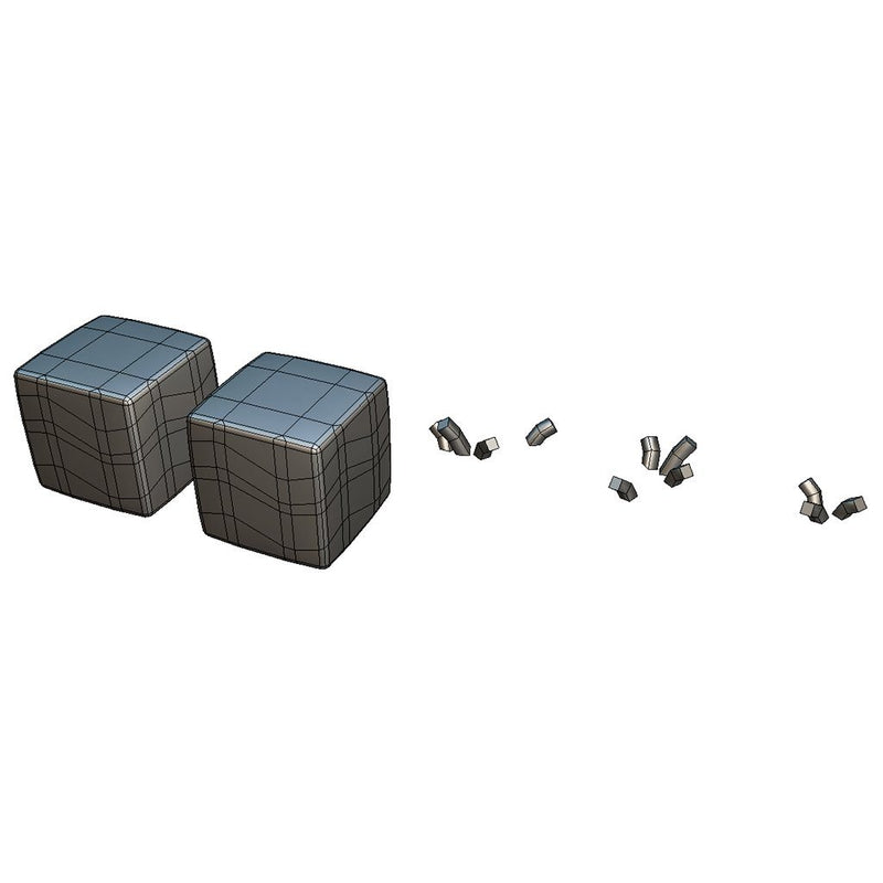 Environments - Cube World Ground Block 1 - Proto Series