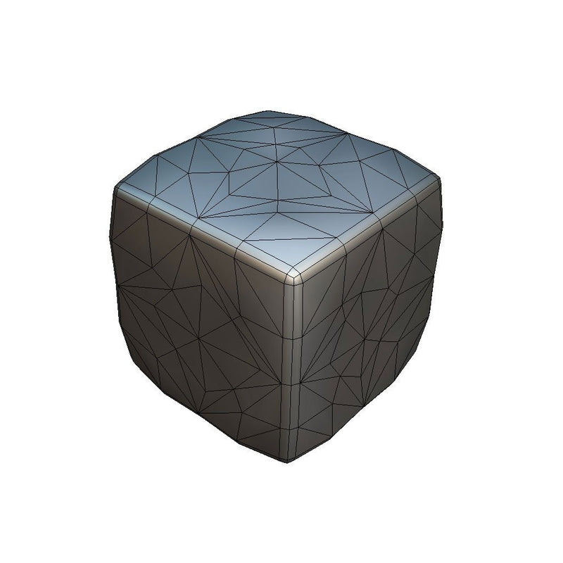 Environments - Cube World Lava Block 1 - Proto Series - Free