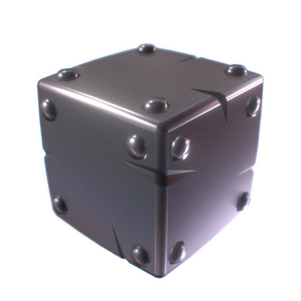 Environments - Cube World Metal Block 1 - Proto Series - Free