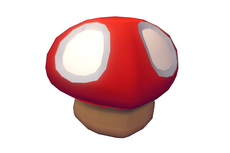 Cube World Mushrooms - Proto Series - Free