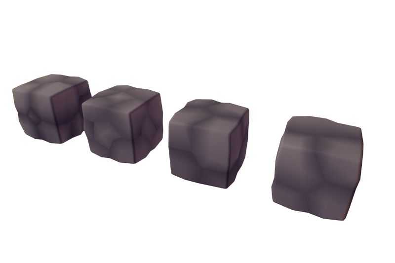 Environments - Cube World Rock Block - Proto Series