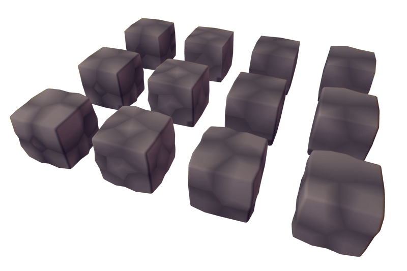 Cube World Rock Block - Proto Series
