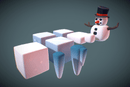 Environments - Cube World Snow & Ice Blocks - Proto Series