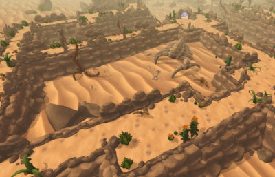Environments - Desert Maze - ZugZug Studio