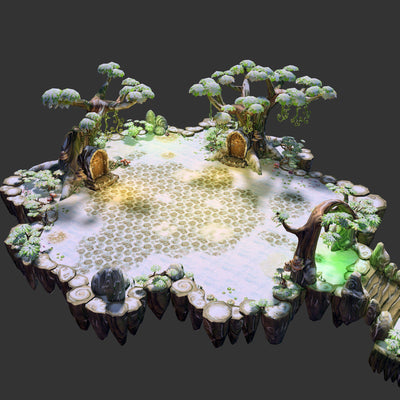 Environments - Floating Islands Fantasy Environment Pack - 3dfancy