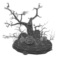 Environments - Halloween Set - Faceted Style