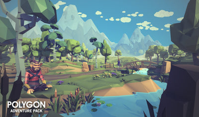 Environments - POLYGON - Adventure Pack - Synty