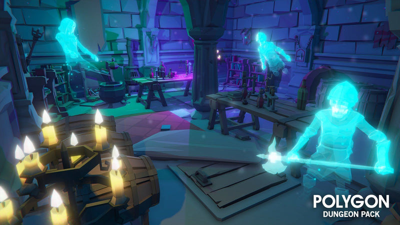 Environments - Polygon Dungeons Pack - Synty