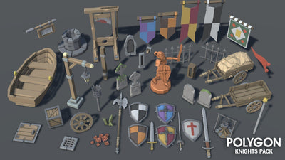 Environments - POLYGON - Knights Pack - Synty
