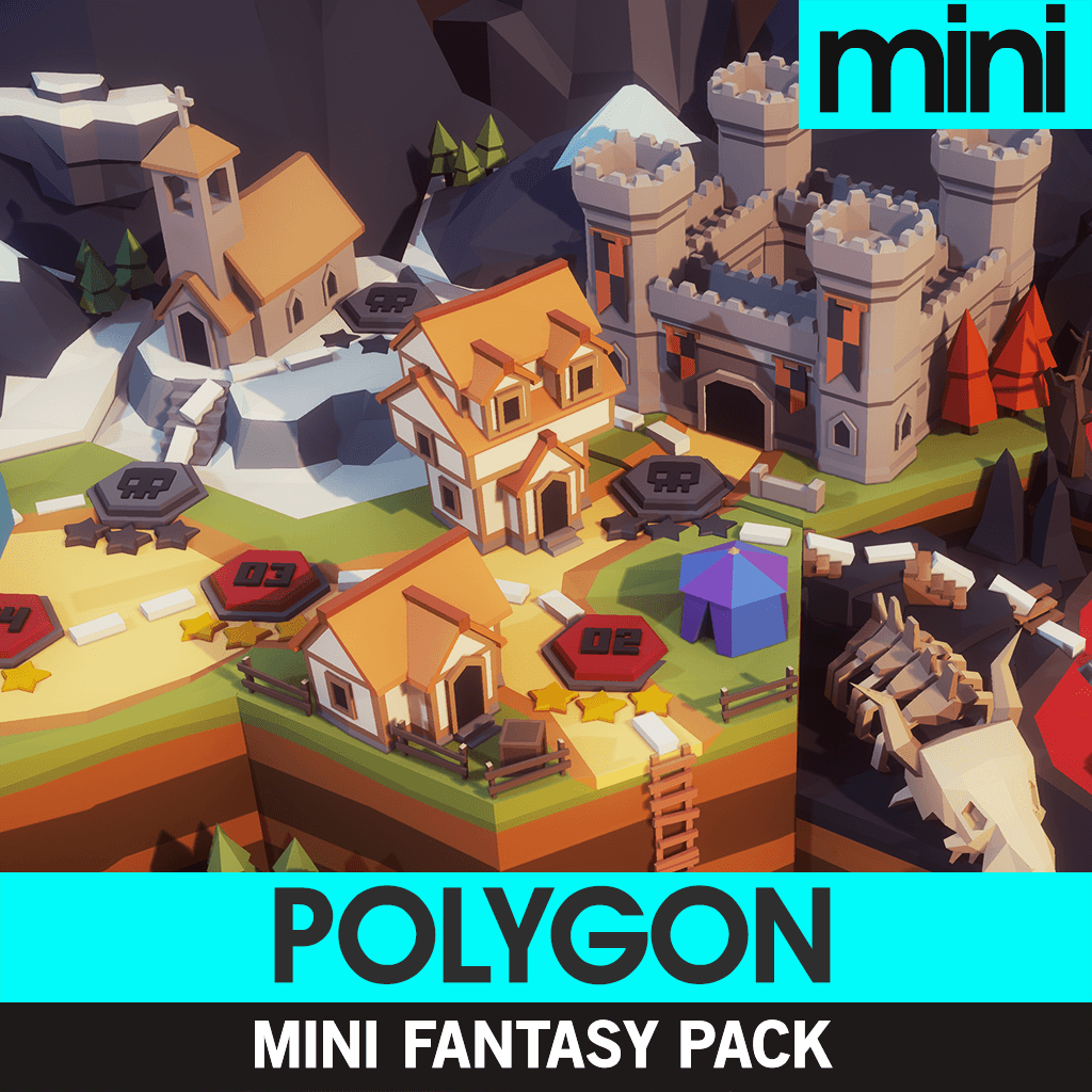 Environments - POLYGON MINI - Fantasy Pack - Synty