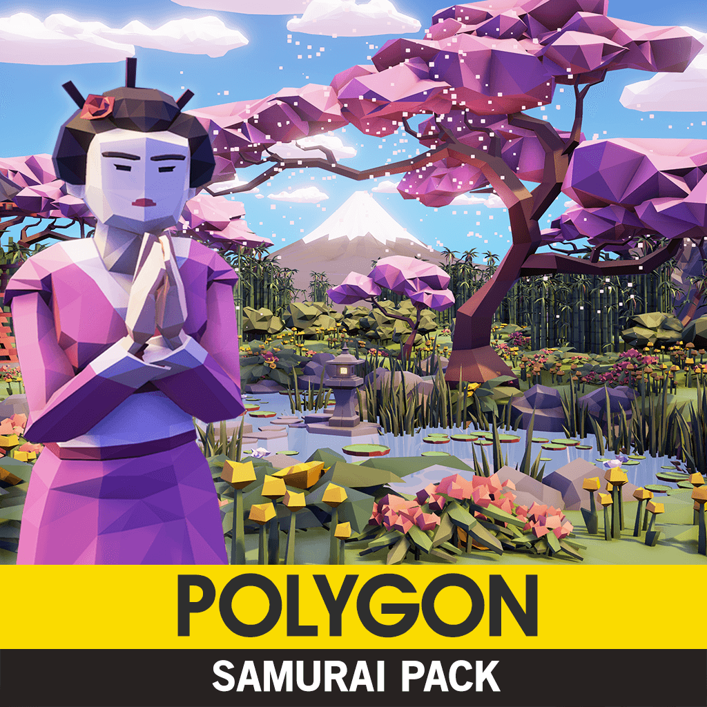 Environments - Polygon - Samurai Pack - Synty