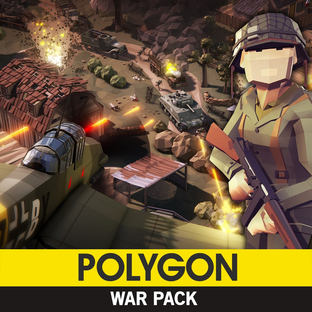 Environments - POLYGON - War Pack - Synty