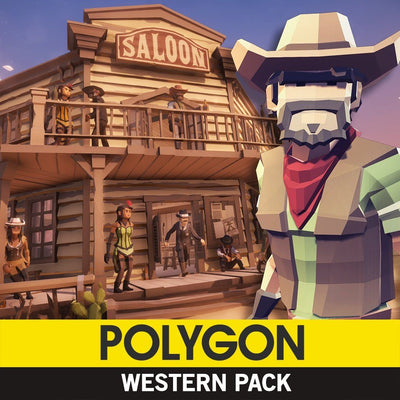 Environments - POLYGON - Western Pack - Synty
