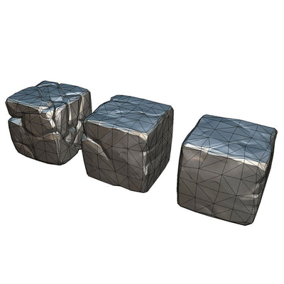 Environments - Rock Block - PBR Handpainted Series