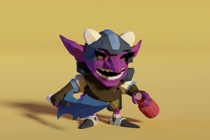Goblin Hero Raz - Faceted Series