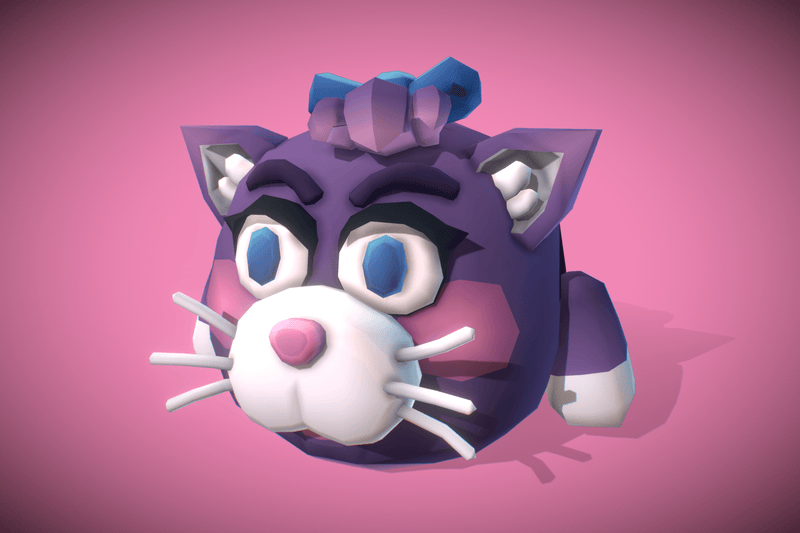Cube World Cat Cloe - Proto Series