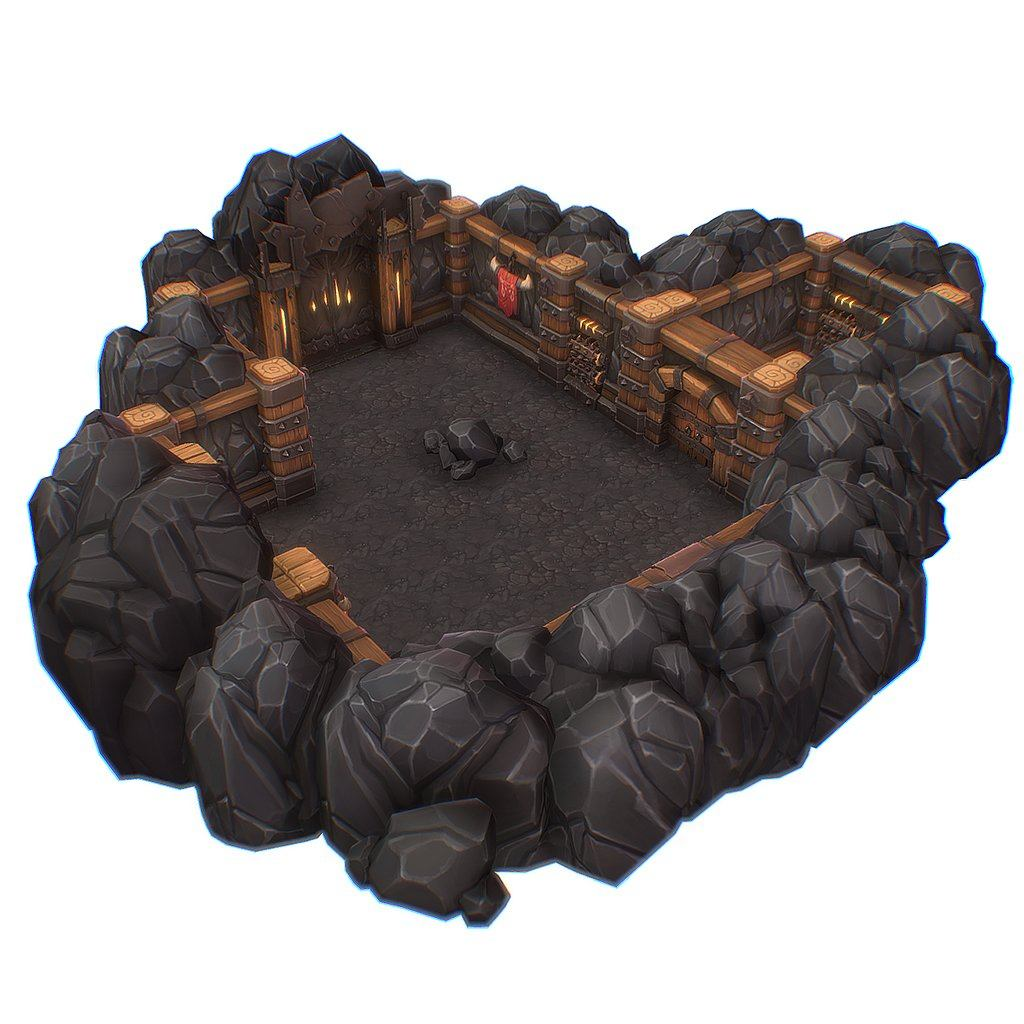Orc Stronghold Starter Set - Hand Painted Series