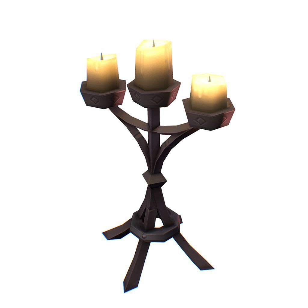 Props - Candelabra - Free Download