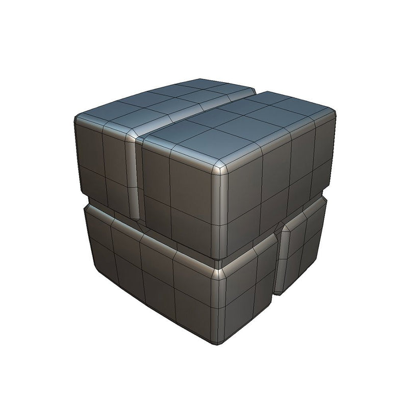 Props - Cube World Brick Block - Proto Series - Free