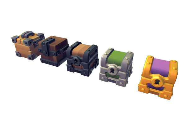 Props - Cube World Chest Cube - Proto Series