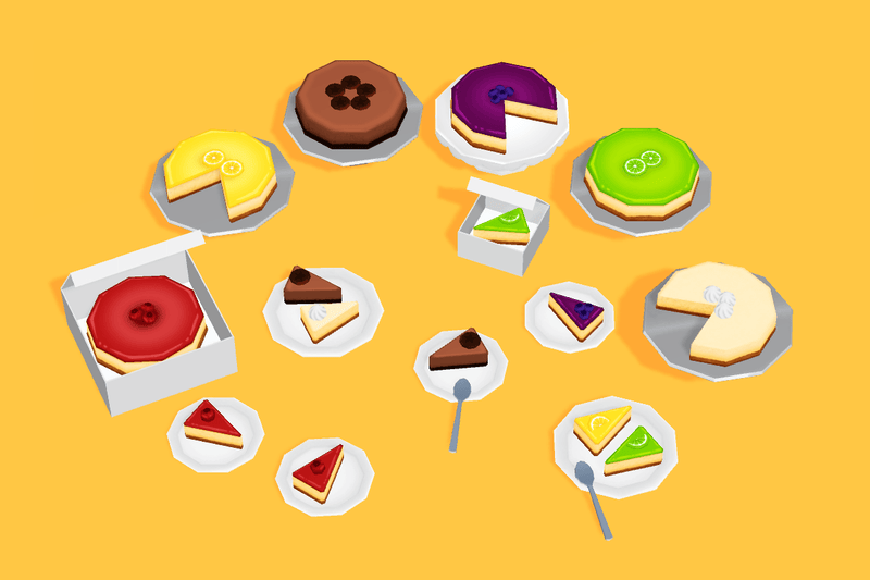 Props - Great Cakes - Low Poly Hand Painted