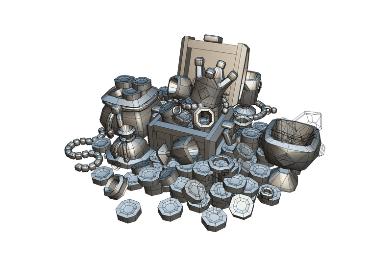 Props - Loot & Treasure Set - Proto Series