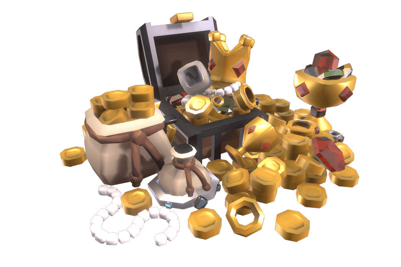 Loot & Treasure Set - Proto Series