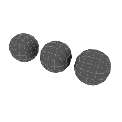 Props - Low Poly Ball Set