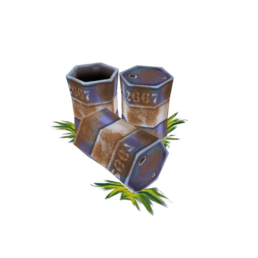 Props - Low Poly Barrels