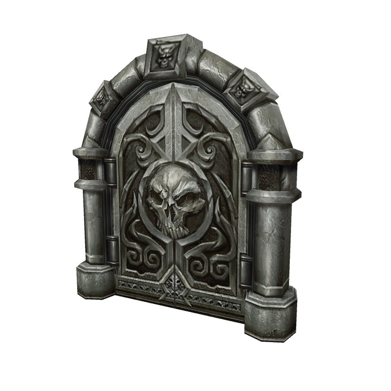 Props - Low Poly Dungeon Door Set