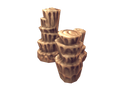 Props - Low Poly Rock Formation 02