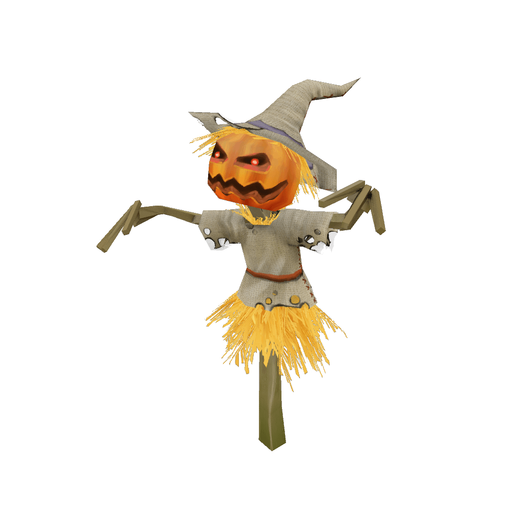 Props - Low Poly Scare Crow