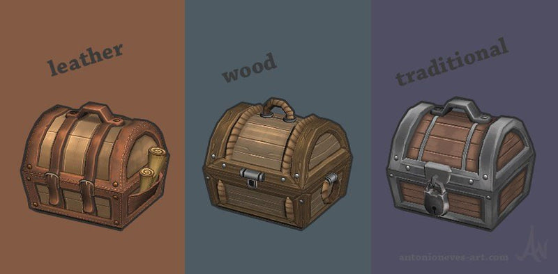 Props - Lowpoly Fantasy Props - Antonio Neves