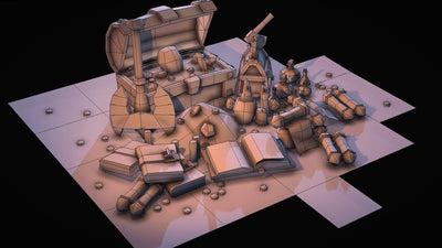 Props - Medieval Loot Pack Vol.1 - Polygrade