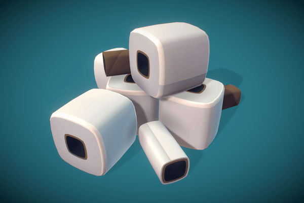 Props - Toilet Paper Roll - Proto Series