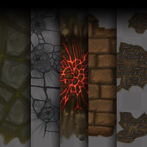 Textures - Decal Texture Set 01