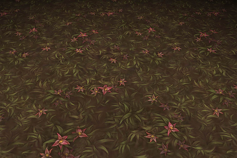 Grass Dirt Leaves - Hand Painted Texture Pack 12