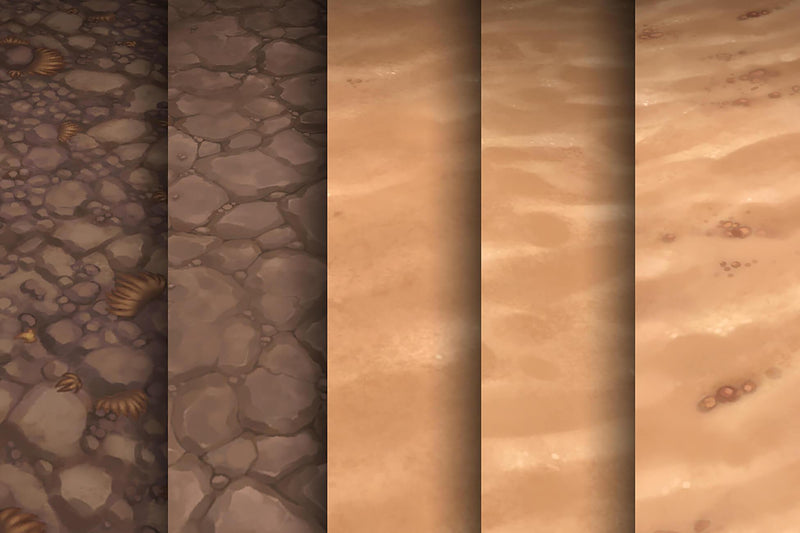 Sand Dirt - Hand Painted Texture Pack 16
