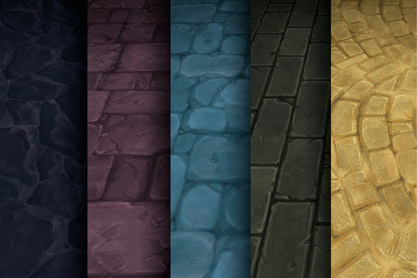 Textures - Stone Brick - Hand Painted Texture Pack 01