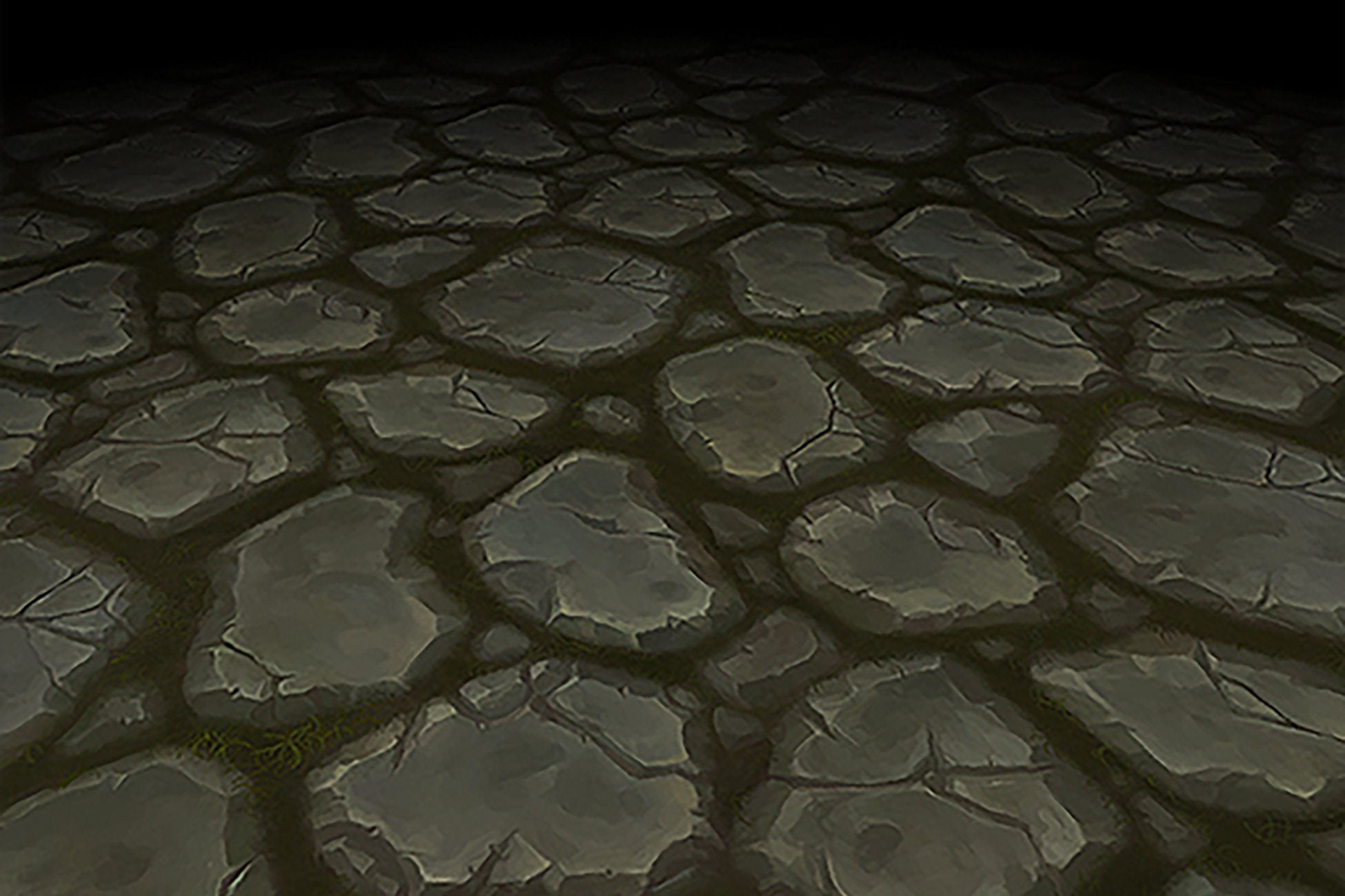 Textures - Stone Floor Grey Cobble Path Hand Painted Texture