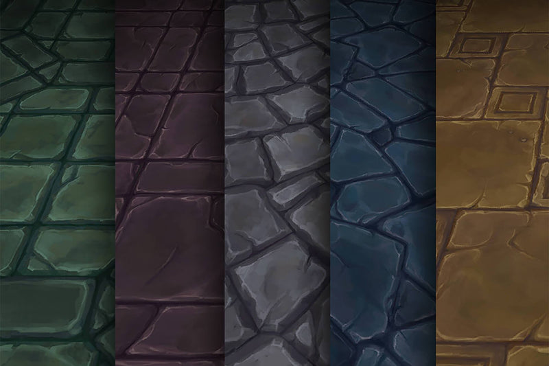 Stone - Hand Painted Texture Pack 10