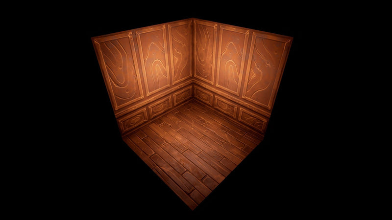 Textures - Stylized PBR Indoor Textures Pack - Qwedeath