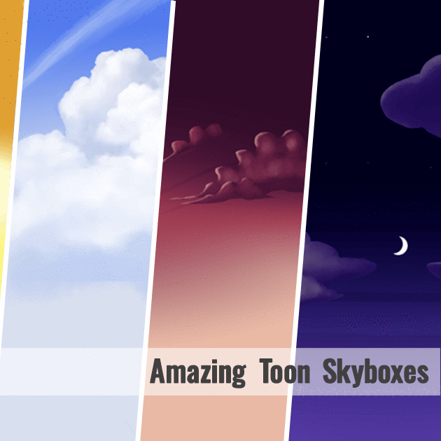 Textures - Toon Skyboxes - Polygrade