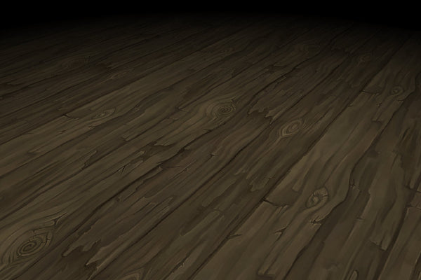 Textures - Wood Floor Long Rough Planks Hand Painted Texture